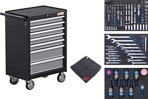 BGS 4104 | Werkstattwagen | 7 Schubladen | mit 215 Werkzeugen