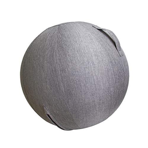 lizeyu Leinen Yoga Ball Schutzhülle Fitnessstudio Übung Balance Ballhülle und Yoga Fitness