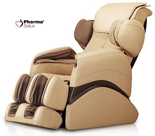 PharmaSalus Poltrona massaggiante terapeutica con cuscini d'aria PS551 colore BEIGE