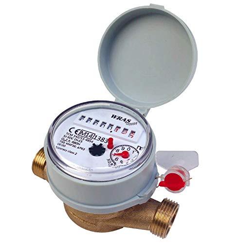 Single-Jet Cold Water Meter 1/2' BSP (15mm)