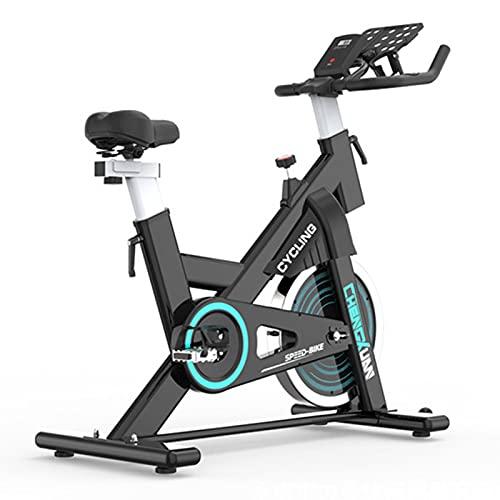 Spinning Bike Indoor Ejercicio Bicicleta Home Gym Ejercicio Aerobic Ejercicio Interior Ejercicio Spin Bike, con Soporte para Teléfonos Móviles Y Monitor Digital