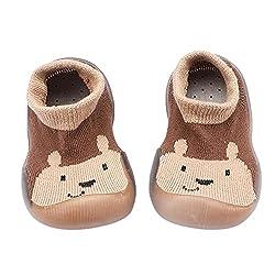 Kleinkind Schuhe Baby Lauflernschuhe Jungen Krabbelschuhe Babyschuhe Rutschfest Kleinkind Schuhe Weicher Boden Sockenschuhe Cartoon Atmungsaktives Bodensocken Badeschuhe