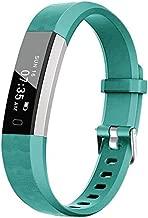 BIGGERFIVE Fitness Tracker Watch for Kids Girls Boys Teens, Activity Tracker, Pedometer, Calorie Sleep Monitor, Alarm Clock, IP67 Waterproof Step Counter Watch (Green)