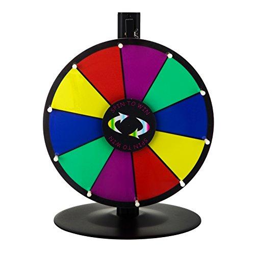Happybuy mesa color premio rueda con plegable trípode soporte de suelo ranuras...