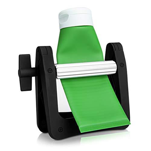 kwmobile Exprimidor de tubos de plástico - Apretador de pasta de dientes crema pegamento pintura...