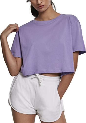 Urban s Damen  Ladies Oversized Regular Fit Tee,  Violett (Lavender 00928),  X-Small (Herstellungsgröße: XS)