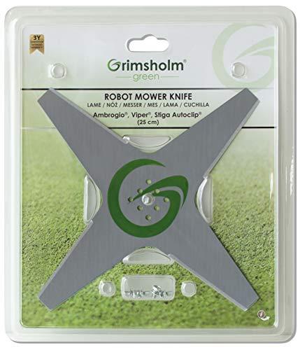 Grimsholm Green® - Couteau pour Stiga Auto Clip 25 cm