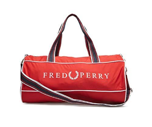Borsone Fred Perry Retro Barrel red ss19