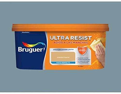 Pintura interior Bruguer Ultra Resist Gris Denim 4 Lt