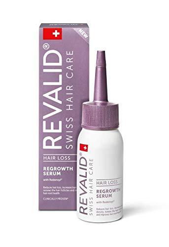 REVALID, Swiss Hair Care, Serum zum Nachwachsen gegen Haarausfall, regenerative Wirkung, 50 ml