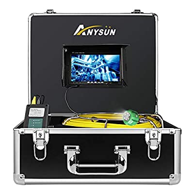 Industrial Endoscope Cable,ANYSUN 30m/99ft Cable(Yellow)