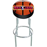Arcade 1 Up Officially Licensed NBA JAM Arcade Stool with Extending Legs
