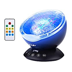 LightMe Colorful Ocean Wave Projector on amazon