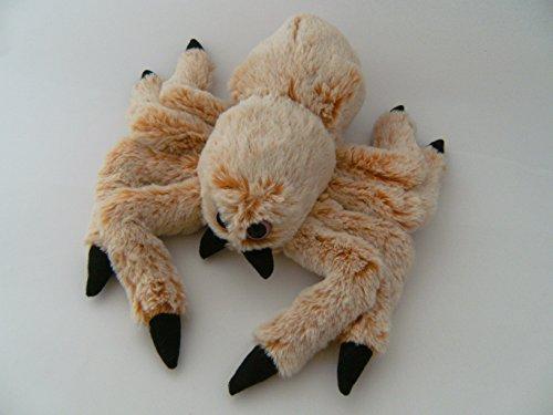 PIA International Plüschtier Spinne 30 cm beige, Stofftiere Kuscheltiere Spinnen Halloween Vogelspinne