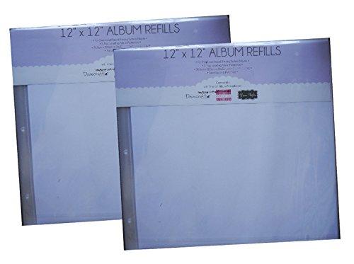 Grant Studios Grace Taylor First Edition 30,5x 30,5cm Scrapbook Album Refill Seiten Protectors X 5(2Packungen)