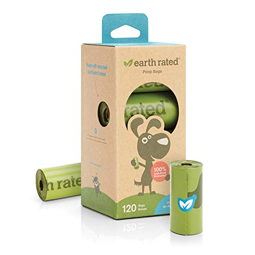 Earth Rated Dog Poop Bag - 120 Waste Bags For Dogs | Extra Thick...
