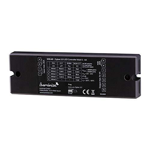 iluminize Zigbee 3.0 LED-Controller (5x 4A Universal)