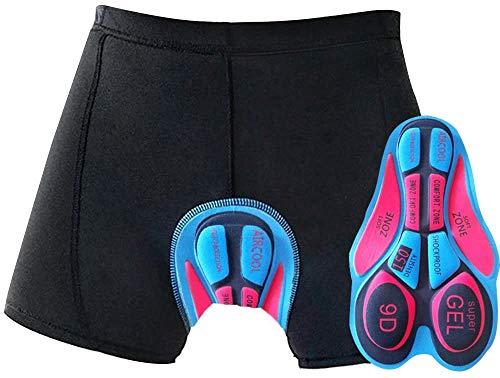 OKBONN Ciclismo Mutande Gel 20D Imbottite Bicicletta Pants Uomo& Le Signore Pantaloncini Pantaloni Bici Biancheria Intima