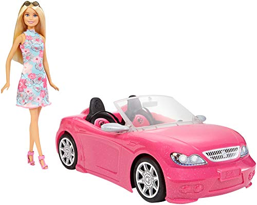 Barbie Doll and Car