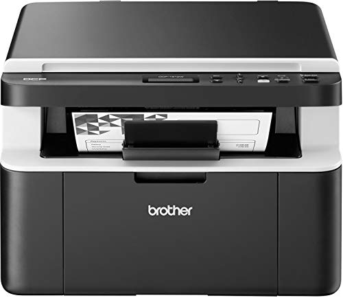 Brother DCP-1612W Kompaktes 3-in-1 Multifunktionsgerät (Laserdrucker, digitaler Kopierer, Farbscanner, 2.400 x 600 dpi, USB 2.0, WLAN) dunkelgrau