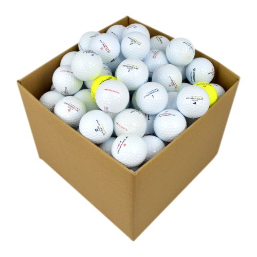Second Chance Pinnacle 100 balles de golf recyclées de...