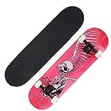ALTINOVO Skateboard, Longboard Complete Cruiser,Red1