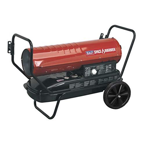 Sealey AB1258 Space Warmer Paraffin Kerosene & Diesel Heater with Wheels,...