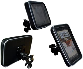 Navitech Cycle / Bike / Bicycle Waterproof holder mount and case Compatible With The Coby Kyros MID 7010, 7010C, 7013, 7018, 7001, 7012, 7016, 7022, 7120, 7125, 7127, 7024, 7026, 7027, 7037