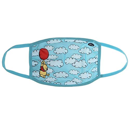 Pooh Gathered Face Mask – Disney Winnie the Pooh Face Cover – Adult