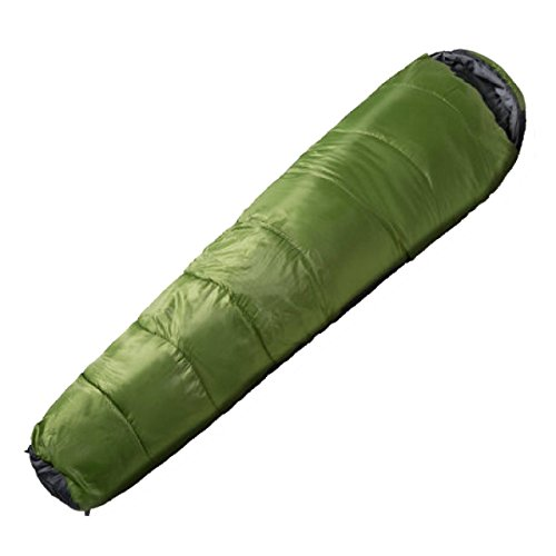 Xin.S Tous Les Sacs De Couchage De Momies De Saison Camping Parfait Trekking Voyageant. Sac De Compression Coque Imperméable Résistante à L'eau. 3 Couleurs,Green-225*80*50cm