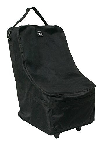 J.L. Childress Wheelie Car Seat Travel Bag, Black Alaska