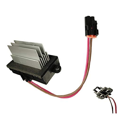 JEM&JULES New Blower Motor Resistor Heater Blower Motor Fan Resistor Control Module Exchange for HUMMER H2