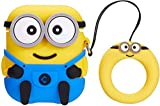 TKM Airpods/iPod Silicone Case Cover Cute Minions Silicone Protective Cases for Apple Airpods Earphone Accessories (3D Minion) iPod case Cover fitness earphones Jan, 2021