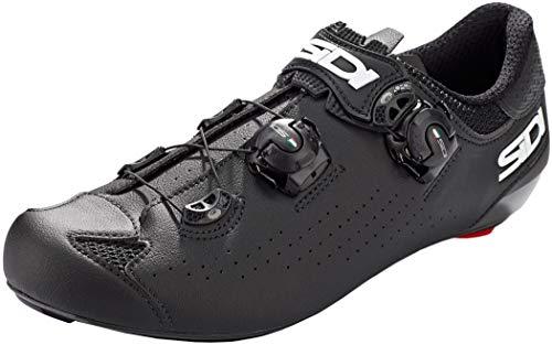 Sidi Genius 10 Road Cycling Shoes (10/44, Black)