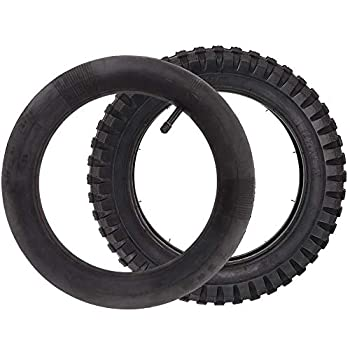 LotFancy 12.5x2.75  12-1/2x2.75  Tire & Inner Tube Set for Razor MX350 MX400 Dirt Rocket X-Treme X-560 - Heavy Duty Scooter Tire Tube for Mini Pocket Bikes