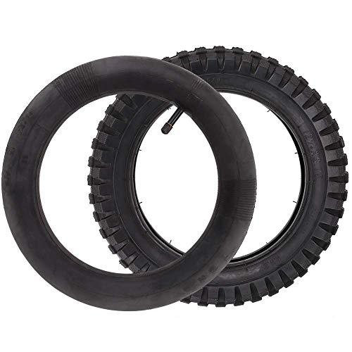 LotFancy 12.5x2.75 (12-1/2x2.75) Tire & Inner Tube Set for Razor MX350 MX400 Dirt Rocket, X-Treme X-560 - Heavy Duty Scooter Tire Tube for Mini Pocket Bikes
