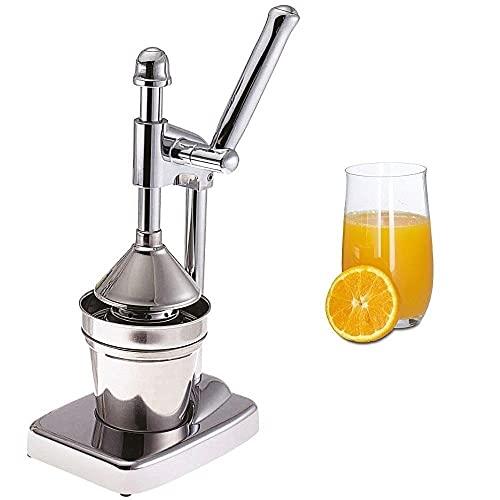 Deals - Exprimidor manual de palanca de acero inoxidable -Exprimidor cítrico naranja limón profesional