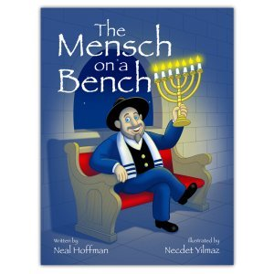 Mensch on a Bench The As Seen on Shark Tank a Hanukkah Tradition Signed Hardcover Book
