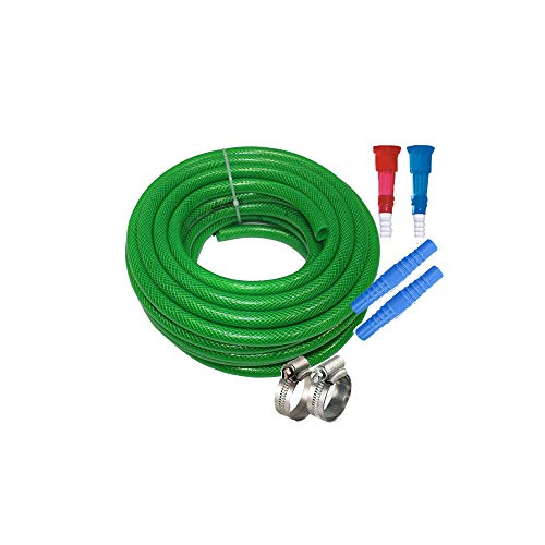SAI PRASEEDA Flexible Heavy Duty 3 Layered Braided Water Pipe Size:3/4 Inch(0.75) 30 Meters(100 Feets) with 6 Month Guarantee Green Color