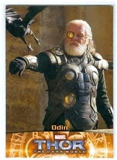 Anthony Hopkins Odin trading card Thor 2013 Upper Deck Marvel #64