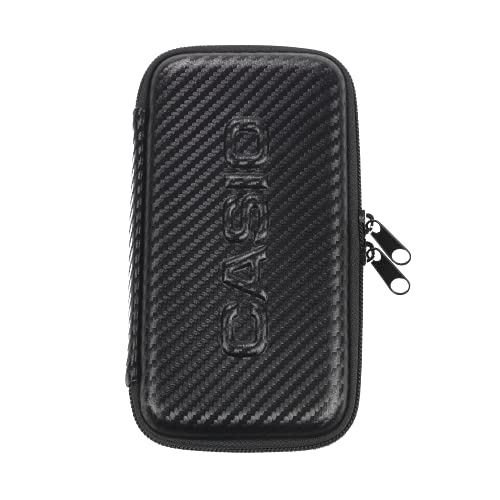 CASIO FX-Case-CB-BK - Funda Protectora versión Carbono, 30 x 104 x 186 mm, Color Negro