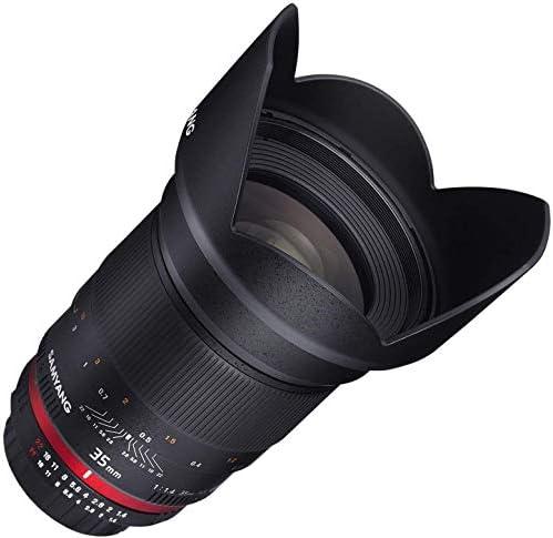 Samyang 35mm F1 4 Objektiv Für Anschluss Canon M Kamera