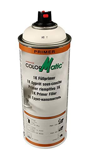 AllorA 1K Füllprimer Spray weiß HG1 Füllerspray 400ml