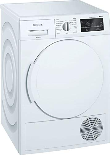 Siemens iQ500 WT47W461ES - Secadora (Independiente, Carga frontal, Bomba de calor, Blanco, Giratorio, Tocar, Derecho)