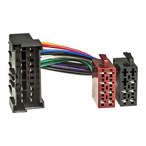 tomzz Audio 7019-001 Radio Adapter Kabel passend für Hyundai ab 1998, Kia ab 2002 auf 16pol ISO Norm
