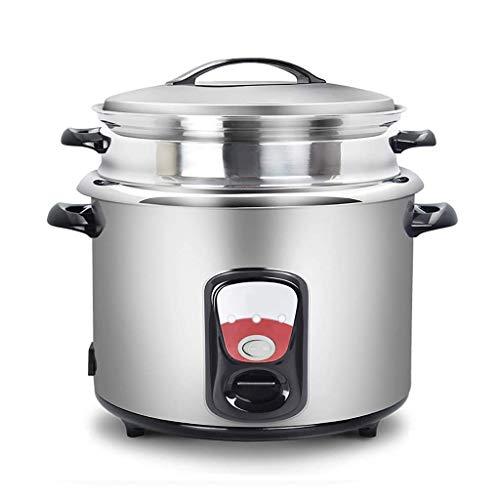 YWWSZJ Cocina eléctrica: Utensilios domésticos Olla Estilo arrocera y vaporizador de Alimentos, cocinado arroz Crudo y vaporizador de Alimentos,