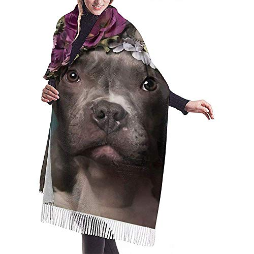 Flower Power, Tater Dode Winter Long Cashmere Scarf Shawl voor heren en dames