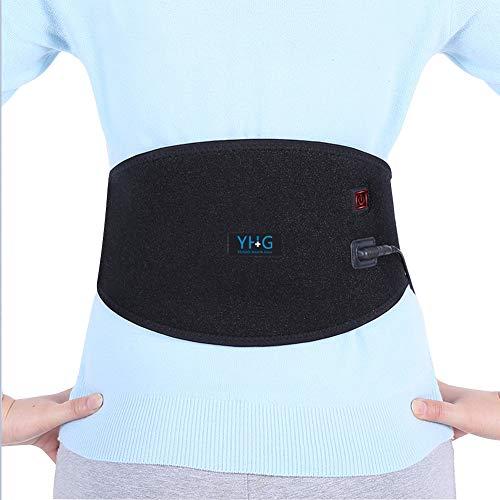 Almohadilla térmica para la parte inferior de la espalda, c