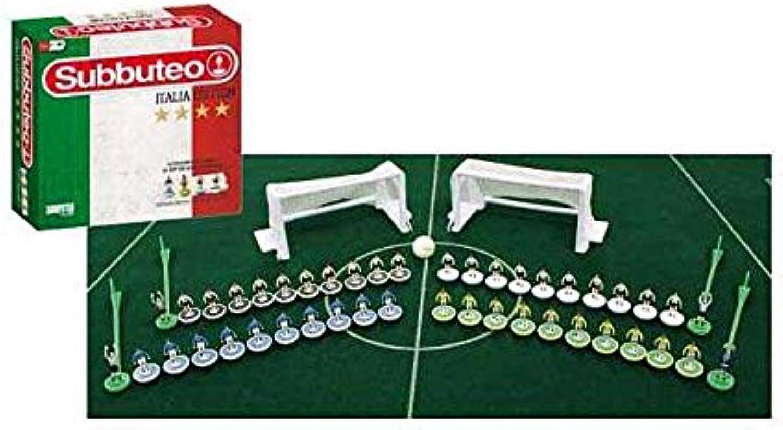 servicio honesto Subbuteo Subbuteo Subbuteo súper DLX Italia juguete idea regalo   AG17  protección post-venta