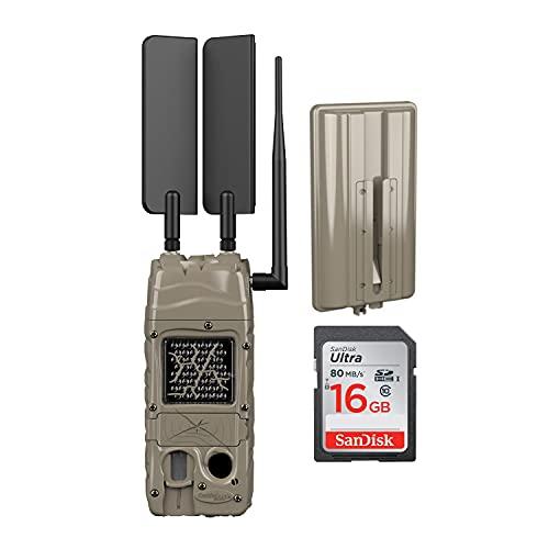 Cuddeback CuddeLink Cell Trail Camera (Verizon) with CuddePower Power Bank and 16GB SD Card Bundle (3 Items)